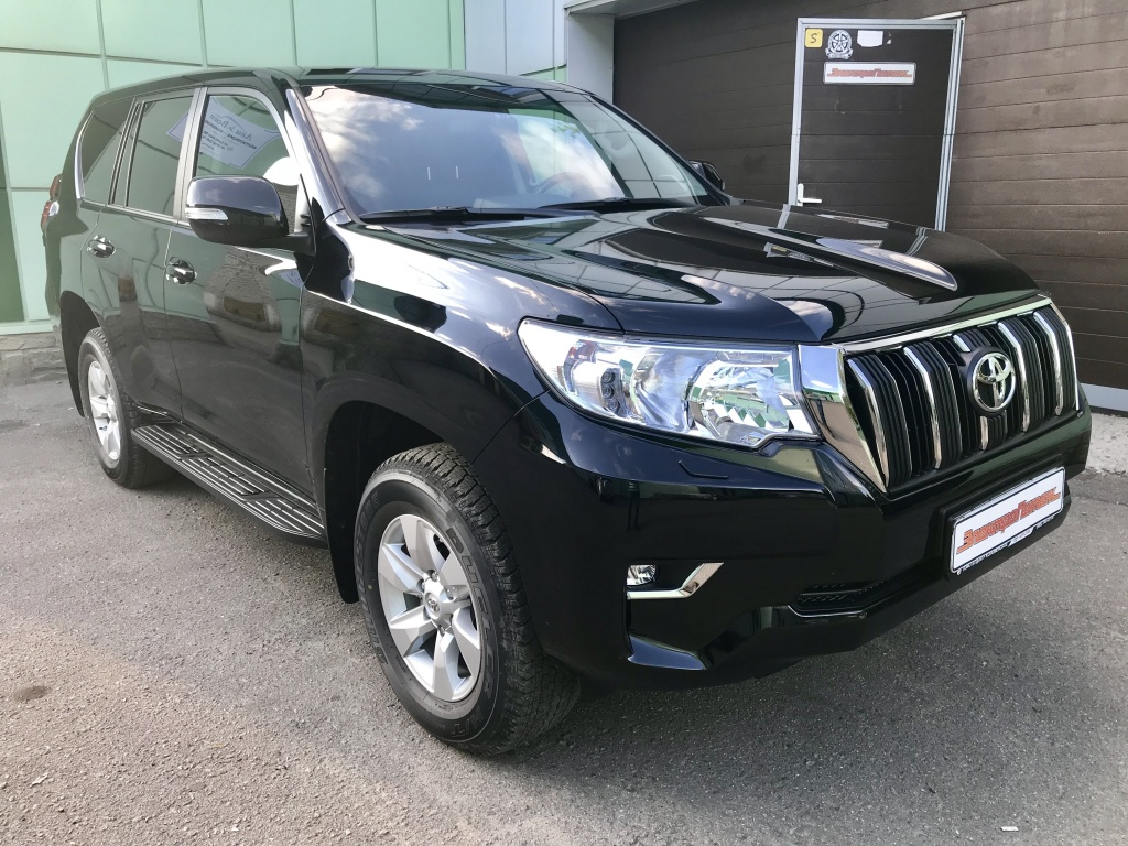 тонирование toyota Land cruiser prado 150