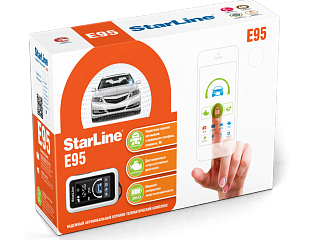 StarLine Е95 BT 2CAN+LIN GSM